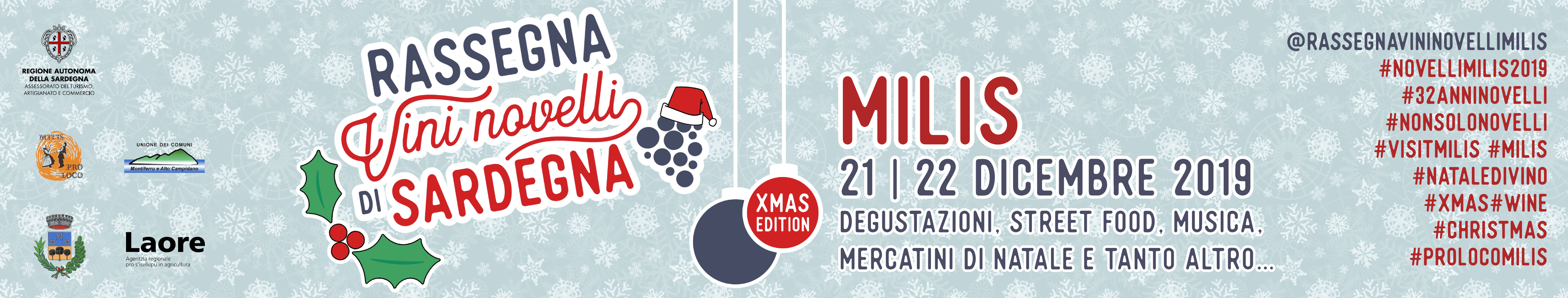 Vini Novelli Christmas edition